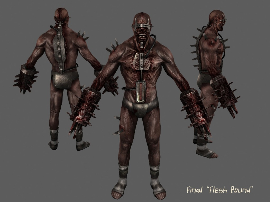 Charming Here You Can See The Final In Game Model/texture For The U201cFlesh Poundu201d, One  Of The Most Feared U201cSpecimensu201d Found In Killing Floor.